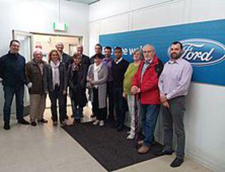 BME-Einkäufer besuchen Ford-Werke in Saarlouis