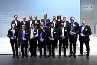 Lieferanten von Daimler mit Supplier Award ausgezeichnet