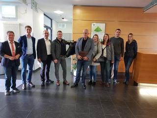 Young Professionals besuchten das DMK Werk in Edewecht
