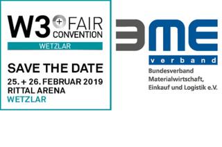 BME ist Silber-Partner der W3+ Fair/Convention in Wetzlar