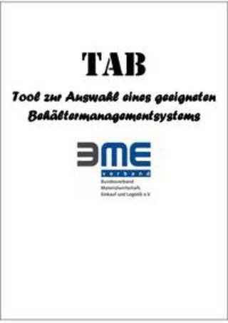 BME-Leitfaden TAB: Arbeitshilfe zur Auswahl eines Behältermanagementsystems