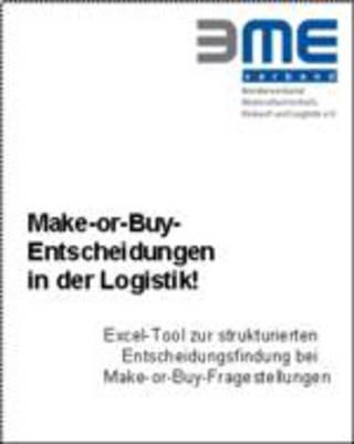 BME-Leitfaden Make-or-Buy-Entscheidung in der Logistik