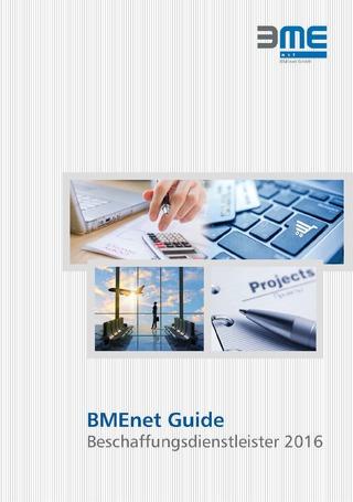 BMEnet Guide Beschaffungsdienstleister 2016
