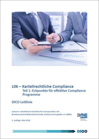Eckpunkte kartellrechtlicher Compliance-Programme