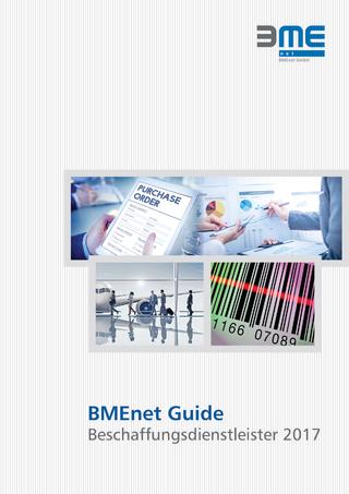 BMEnet Guide Beschaffungsdienstleister 2017