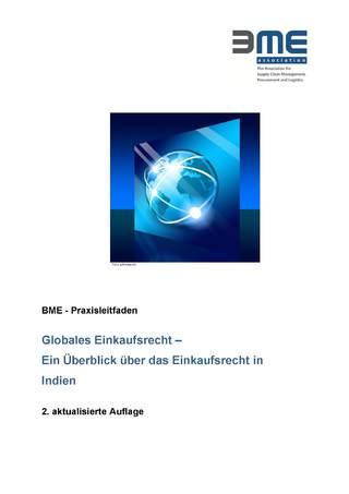 Praxisleitfaden Globales Einkaufsrecht Indien - deutsche Sprache