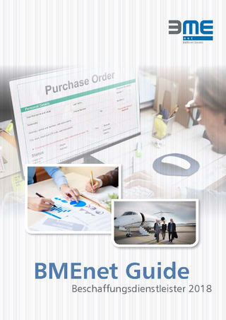 BMEnet Guide Beschaffungsdienstleister 2018