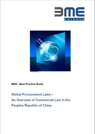 Praxisleitfaden Globales Einkaufsrecht China englisch