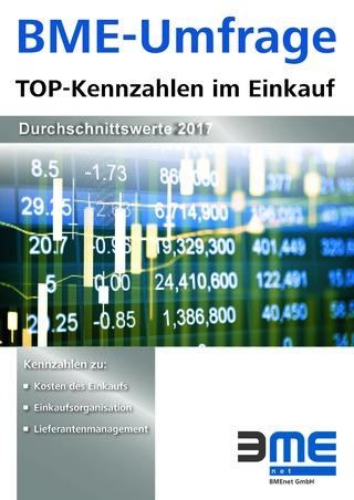 BME TOP-Kennzahlen im Einkauf - Durchschnittswerte