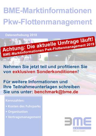 BME-Marktinformationen Pkw-Flottenmanagement