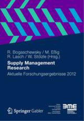 Supply Management Research 2012