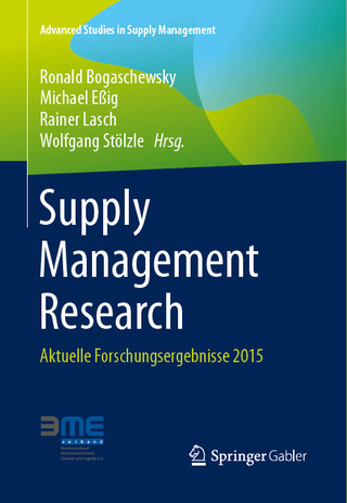Supply Management Research 2015