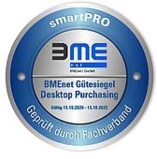 """BMEnet-Gütesiegel """"Desktop Purchasing"""" für smartPRO"""