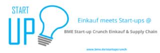 """BME-Start-up-Crunch """"Einkauf & Supply Chain"""" in Neuss"""