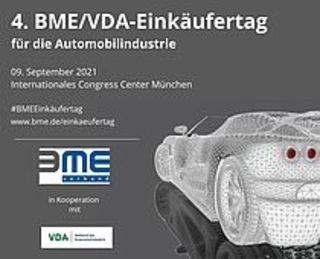 4. BME-/VDA-Einkäufertag am 09.09. in München