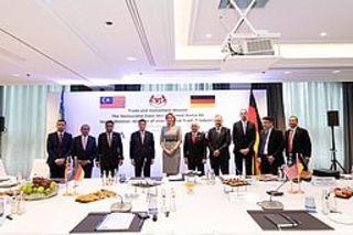 BME trifft malaysischen Wirtschaftsminister in Frankfurt