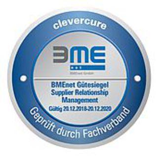 curecomp mit BMEnet Gütesiegel für SRM-Lösung ausgezeichnet