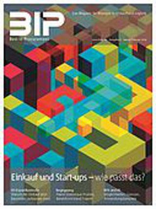 BIP-Titelgeschichte (Ausgabe 01/2019): Einkauf und Start-ups: Wie passt das zusammen?